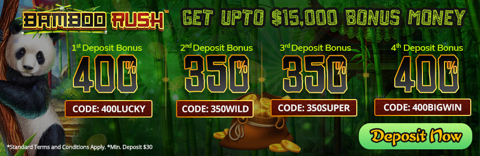 Silveredge Casino Bonus Packages