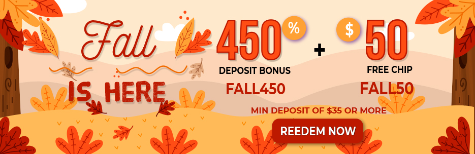 Fall is here Casino Bonus Packages