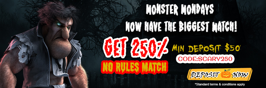 silveredge casino exclusive halloween offers
